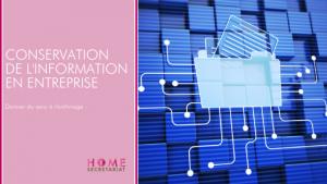 Conservation de l'information en entreprise